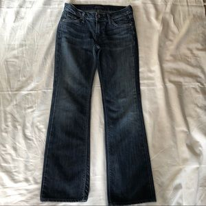 James Jeans Dark Bootcut. Size 26